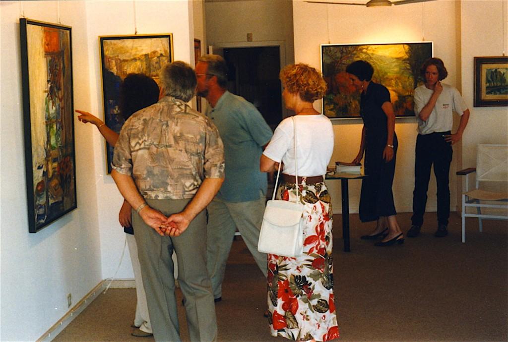 Vernissage d'Haudrecy Art Gallery