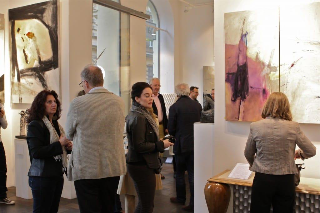 Vernissage galleria Lindengruen – Vienna 2012_05