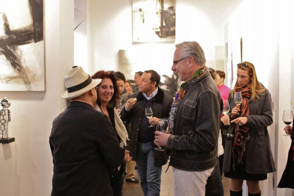 Vernissage galleria Lindengruen – Vienna 2012_09