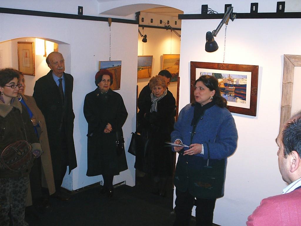 Vernissage galleria la Panchetta