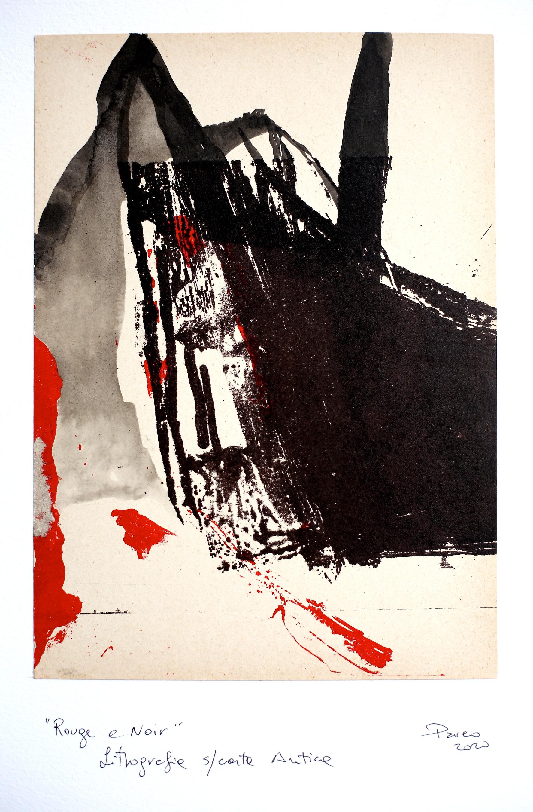 Serie Noir et Rouge